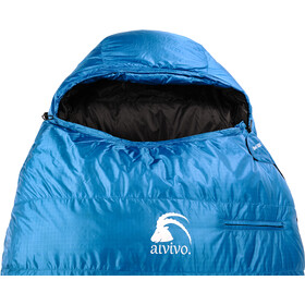 Alvivo Ibex 500 Sleeping Bag turquoise/black